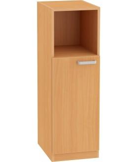 Skříň NOVA s nízkými dveřmi 3OH - SB10 výška 113 cm  - levá