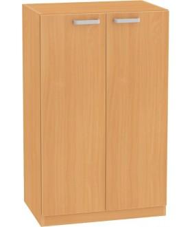 Skříň NOVA s dveřmi 3OH - SB12 výška 113 cm