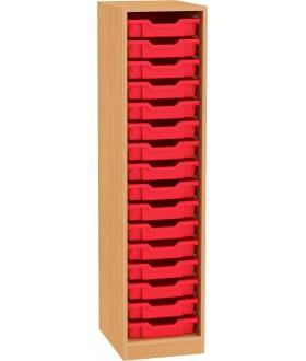 Skřín Nova otevřená SC06 výška 148 cm