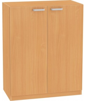 Skříň NOVA s dveřmi 3OH - SB14 výška 113 cm