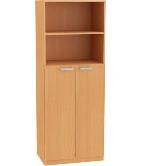 Skříň NOVA s dveřmi středními 5OH - SD22 výška 183 cm