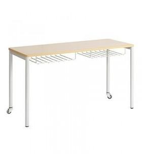 Dvoumístný mobilní stůl s košíky NDSM21