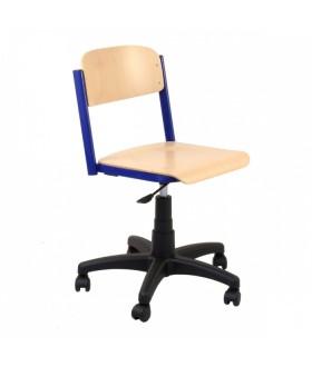 Žákovská židle otočná výškově stavitelná Z41