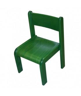 Dětská židle buková NZ80M - mořená
