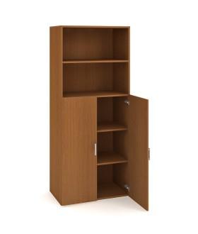 Kancelářská skříň Drive 80x185 cm s nikou