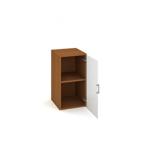 Kancelářská skříň Drive 40x74 cm prosklená