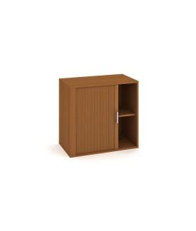 Kancelářská skříň Drive 80x74 cm s roletou - D28003L