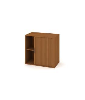 Kancelářská skříň Drive 80x74 cm s roletou - D28003P