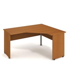 Kancelářský pracovní stůl Gate 160x120  cm (60x60cm)