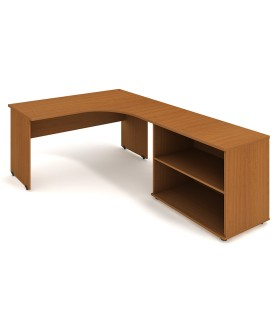 Kancelářský pracovní stůl Gate 160x200 cm (60x60cm) - GE60HL