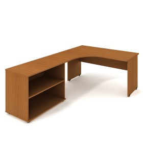 Kancelářský pracovní stůl Gate 160x200 cm (60x60cm) - GE60HP