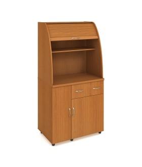 Minikuchyně Office KU 2 2 L - s lednicí levá