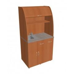 Minikuchyně Office - s dřezem a baterií levá - KU21L