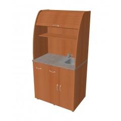 Minikuchyně Office - s dřezem a baterií pravá - KU21P
