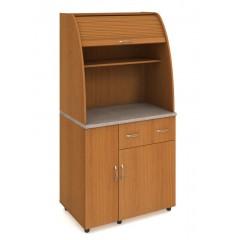 Minikuchyně Office - s lednicí levá - KU22L