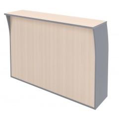 Recepční pult IMAGO  RS4 - rozměr 164x51x115 cm - výběr barevného provedení