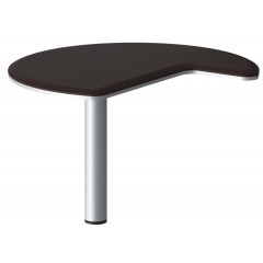 Přístavný stůl NIDIO pravý - DB110 - rozměr 110x110 cm - výběr barevného provedení