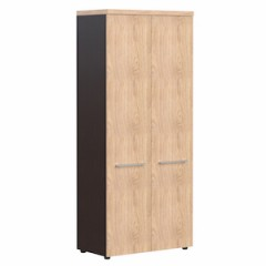 Policová vysoká skříň NORIZ s dveřmi NAHC 85.1
