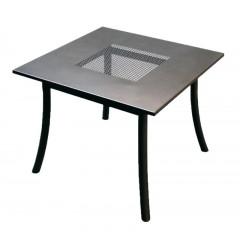 Kovový zahradní stůl  PALO čtverec U511 - 90x90 cm