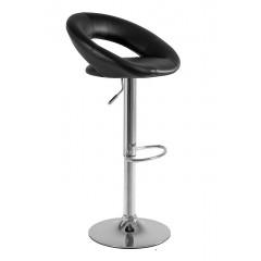 Otočná barová židle CARINO - černá