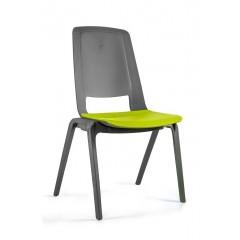 Plastová židle FILA - oliva
