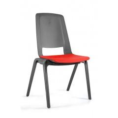 Plastová židle FILA - červená