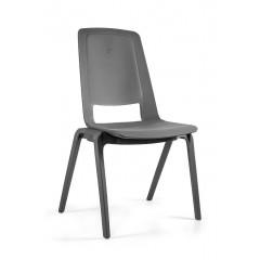 Plastová židle FILA - šedá