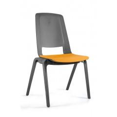 Plastová židle FILA - mango