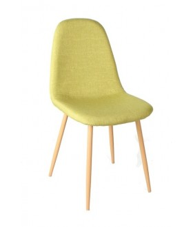 Konferenční židle LIMA žlutozelená