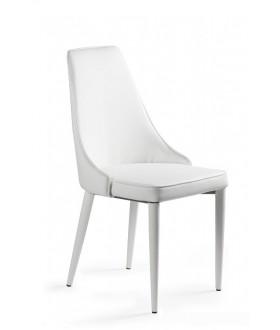 Jednací židle SETINA - bílá