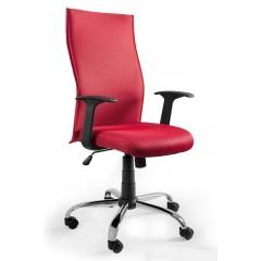 Kancelářské křeslo BLACK PS - červené
