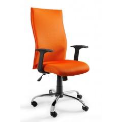 Kancelářské křeslo BLACK PS - oranžové