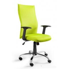 Kancelářské křeslo BLACK PS - zelenožlutá