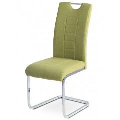 Jídelní čalouněná židle DCL404 - zelená