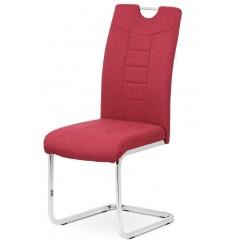 Jídelní čalouněná židle DCL404 - červená