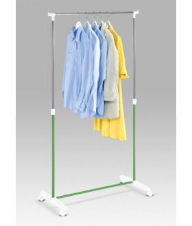 Kancelářský stojan na šaty 58727 chrom-zelená