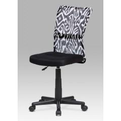 Dětská židle SAMBINO černá s motivem