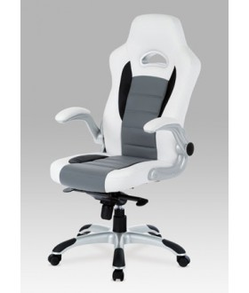 Kancelářská židle ŠÁRKA KA-E240B bílá