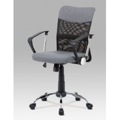 Dětská židle K-V202 šedá