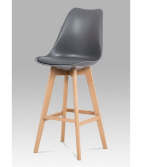 Barová židle šedá CTB-801 GREY