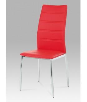 Jídelní židle čalouněná AC-1295 RED
