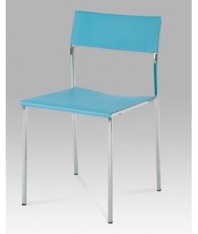 Jídelní židle plastová CT-222 BLUE