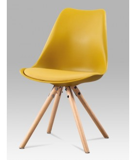 Jídelní židle čalouněná CT-233 YEL