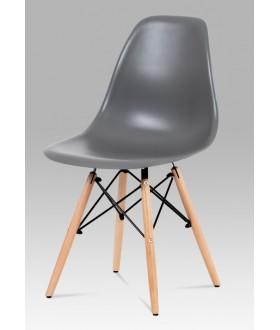 Jídelní židle plastová CT-758 GREY