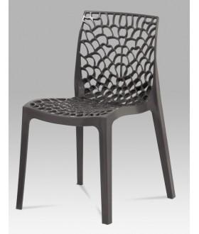 Plastová židle CT-820 GREY
