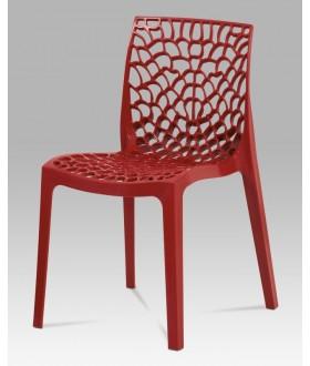 Plastová židle CT-820 RED