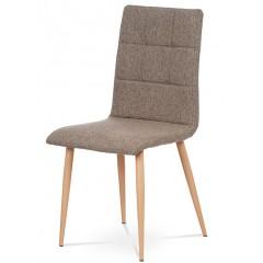 Jídelní čalouněná židle DCL603 - šedohnědá