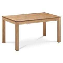 Dřevěný jídelní stůl z masivu DSD160 - rozměr 160x90 cm