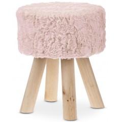 Taburet PINK - růžový