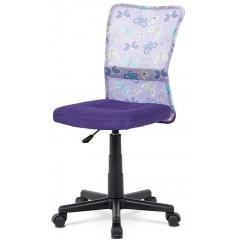 Dětská židle SAMBINO fialová